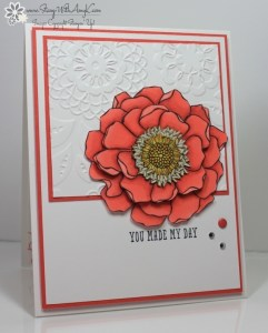 Blended Bloom 1 - Stamp With Amy K