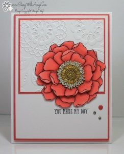 Blended Bloom 2 - Stamp With Amy K