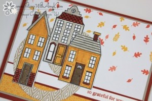 Hoilday Home 3 - Stamp With Amy K