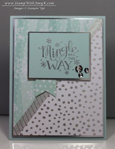 Mingle All The Way 2 - Stamp With Amy K