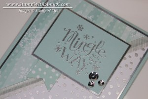 Mingle All The Way 3 - Stamp With Amy K