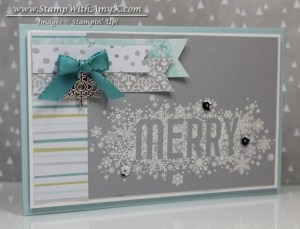 Seasonally Scattered 1 - Stamp With Amy K