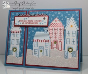Holiday Home 1 - Stamp With Amy K