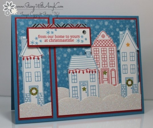 Holiday Home - Stamp With Amy K
