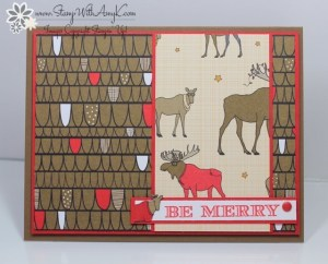 Holiday Invitation 2 - Stamp With Amy K