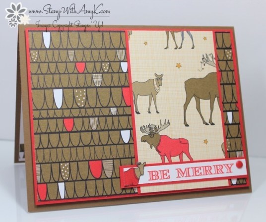 Holiday Invitation - Stamp With Amy K