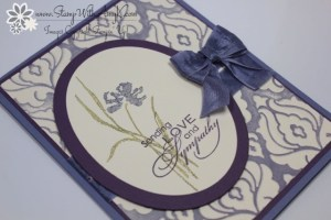 Love & Sympathy 3 - Stamp With Amy K