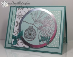 Ornamental Pine 1 - Stamp With Amy K
