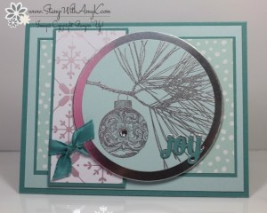 Ornamental Pine 2 - Stamp With Amy K