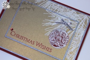 Ornamental Pine 3 - Stamp With Amy K