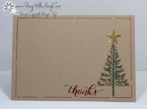 Festival of Trees 1 - Stamp With Amy K