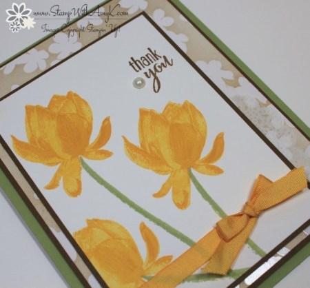 Lotus Blossom 3 - Stamp With Amy K