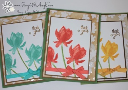Lotus Blossom 5 - Stamp With Amy K