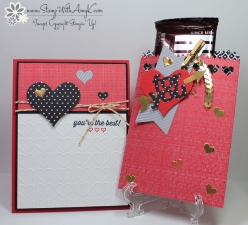 Simply Wonderful Mini Treat Bag - Stamp With Amy K