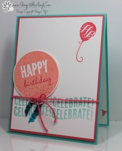 Celebrate Today 1 - Stamp With Amy K