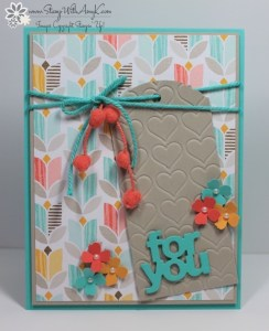 Ornate Tag Topper Punch 1 - Stamp With Amy K