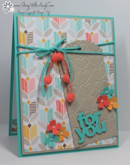 Ornate Tag Topper Punch - Stamp With Amy K