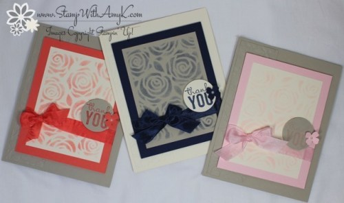 Stampin' Up! - Painted Petals 5 - Stamp With Amy K
