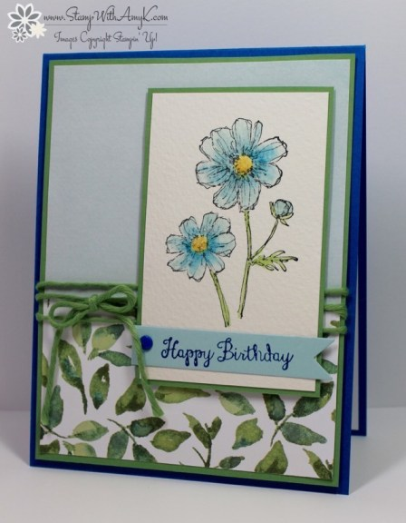 Bloom With Hope - Stamp With Amy K