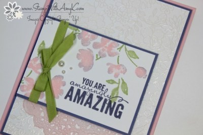 Painted Petals 3 - Stamp With Amy K