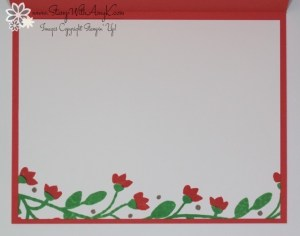 Bountiful Border 4 - Stamp With Amy K