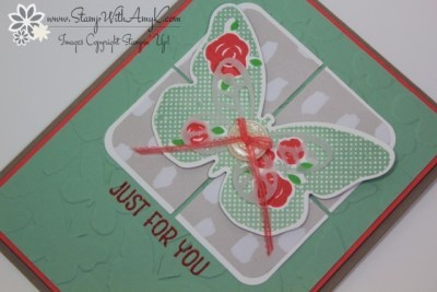 Floral Wings 3 - Stamp With Amy K