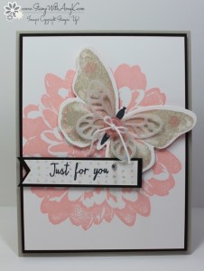 Watercolor Wings 2 - Stamp With Amy K