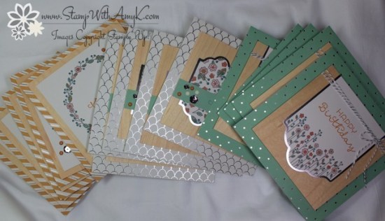 Cottage Greetings 4 - Stamp With Amy K