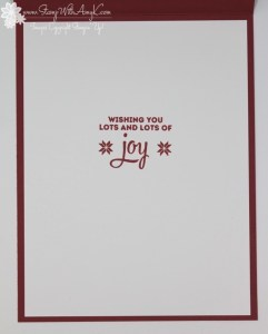 Lots of Joy 4 - Stamp With Amy K