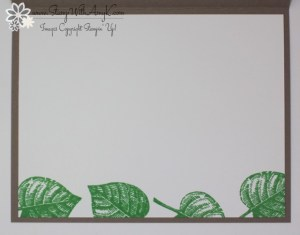 Vintage Leaves 4 - Stamp With Amy K.