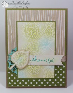 Lighthearted Leaves 1 - Stamp With Amy K