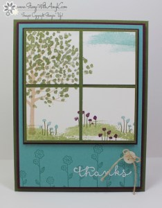 Sheltering Tree 2 - Stamp With Amy K