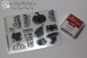 September Paper Pumpkin 1 - Stamp With Amy K