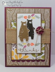 Thankful Forest Friends 2 - Stamp With Amy K