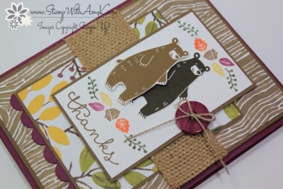 Thankful Forest Friends 3 - Stamp With Amy K