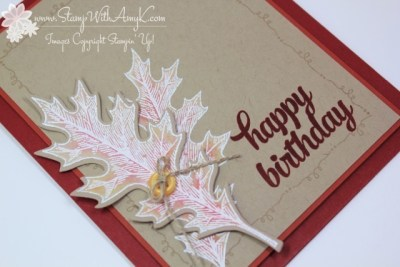 Vintage Leaves 2 - Stamp With Amy K