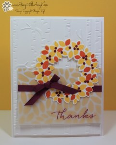 Wondrous Wreath 2 - Stamp With Amy K