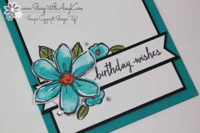 Garden in Bloom 3 - Stamp With Amy K