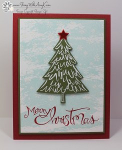 Peaceful Pines 2 - Stamp With Amy K