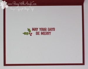Berry Merry 4 - Stamp With Amy K