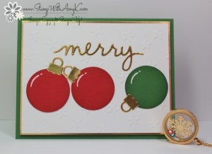 Christmas Greetings Thinlits Dies 2 - Stamp With Amy K