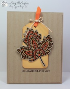 Lighthearted Leaves 2 - Stamp With Amy K