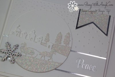 Peaceful Wreath 3 - Stamp With Amy K