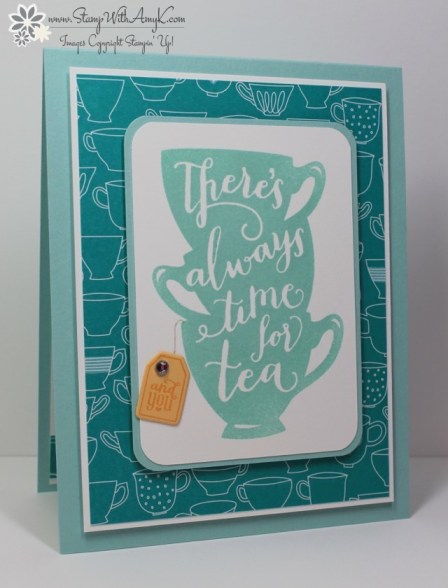 A Nice Cuppa - Stamp With Amy K