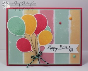 Balloon Celebration 1 - Stamp With Amy K