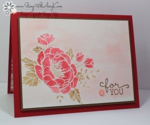 Birthday Blossoms 2 - Stamp With Amy K