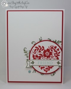 Bloomin' Love 1 - Stamp With Amy K