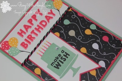 Party Wishes 3 - Stamp With Amy K