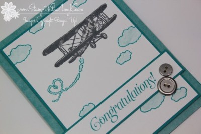 Sky Is The Limit 3 - Stamp With Amy K