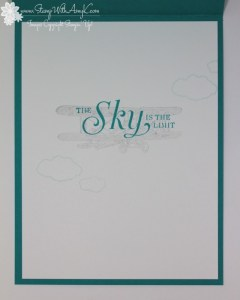 Sky Is The Limit 4 - Stamp With Amy K